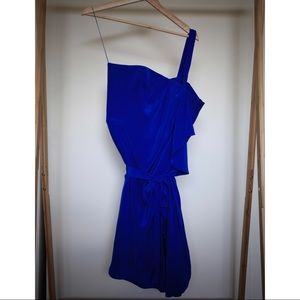 Robert Rodriguez Royal Blue Cocktail Dress
